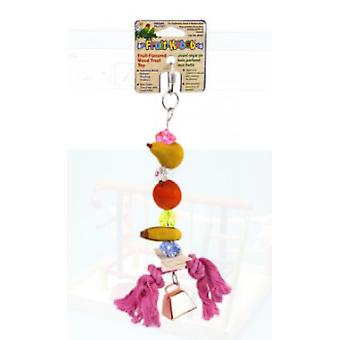 Sandimas Fruits Kabobs (28x8 Cm) (Birds , Toys)