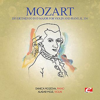 Mozart - Divertimento D-dur na skrzypce fortepian K. 334 & USA import
