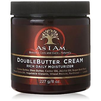 As I Am Double Butter Rich Moisturiser 8oz