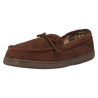 Mens William Lamb Moccasin Slippers Floyd