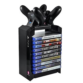 Sony PS4 Official Games Tower + Dual Charger