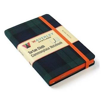 Black Watch: Waverley Genuine Tartan Cloth Commonplace Notebook by Grosset Ron