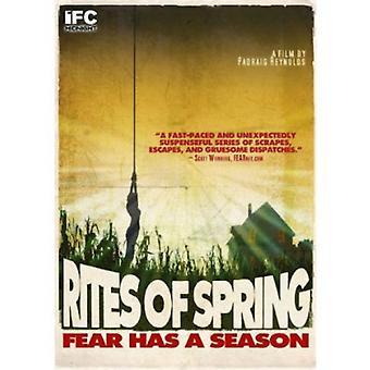 Riter i våren [DVD] USA import