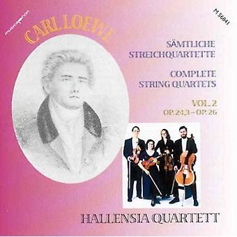 Loewe / Hallensia Qrt - Loewe: Comp Str Qrt [CD] USA import
