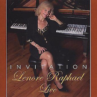 Lenore Raphael - Invitation [CD] USA import