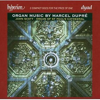 M. Dupre - Organ Music door Marcel Dupr [CD] USA importeren