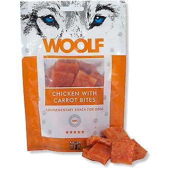 Woolf Chicken with Carrot Bites (Dogs , Treats , Natural Treats)