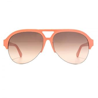 Stella McCartney Falabella Aviator Sunglasses In Orange