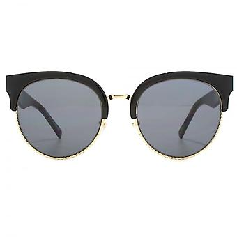 Marc Jacobs Metall Twist Clubmaster Sonnenbrille In schwarz