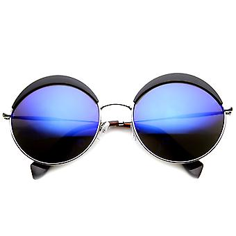 Metal Round Brow Top Fashion Trendsetting Sunglasses