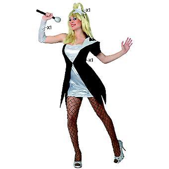 Vestuario de mujer Pop star Vestido de cantante