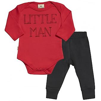 Spoilt Rotten Little Man Babygrow & Jersey Trousers Outfit Set