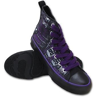 Spiral - WAISTED CORSET - Sneakers - Ladies High Top Laceup