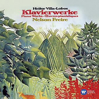 Villa-Lobos - Piano Works-Freire [CD] USA importeren