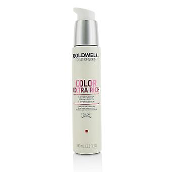 Goldwell Dual Senses Color Extra Rich 6 Effects Serum (Luminosity For Coarse Hair) - 100ml/3.3oz