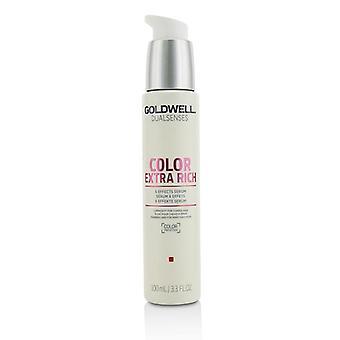 Goldwell Dual zintuigen kleur Extra rijk 6 effecten Serum (lichtsterkte voor grof haar) - 100ml/3.3 oz