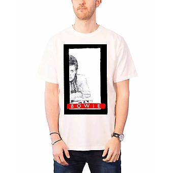 David Bowie T Shirt profile Aladdin Sane new Official Mens White