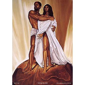 Power of Love Poster Print by WAK Kevin Williams (12 x 18)