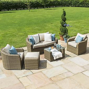 Maze Rattan Tuscany Washington 2 Seat Sofa Set