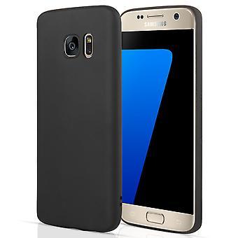 Samsung Galaxy S7 Gel Case - Matte Black