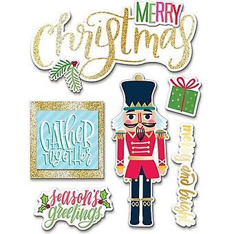 Soft Spoken Themed Embellishments-Christmas Gather Together SS-1690