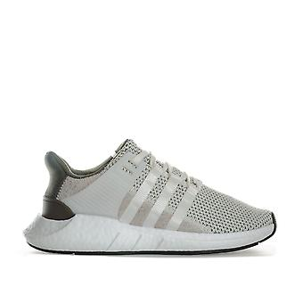 Mens adidas Originals Eqt Support 93/17 Trainers In Beige- Lace Fastening