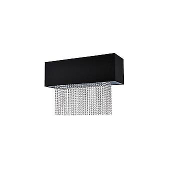 Phoenix Flush - Ideal Lux 101156 schwarz