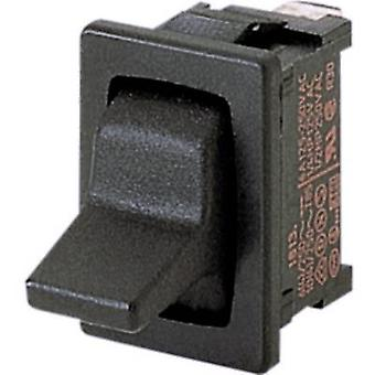 Toggle switch 250 V AC 6 A 1 x On/Off/(On) Marquardt