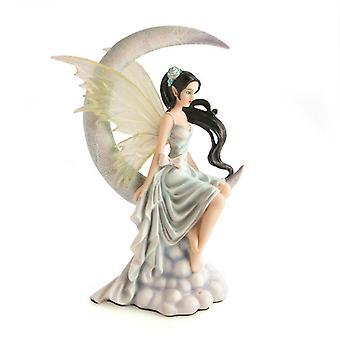 Moon Fairy in White Slip