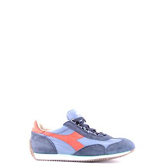 Diadora men's MCBI094062O Blau suede of sneakers