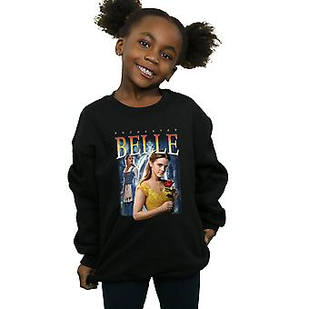 Disney Girls Beauty And The Beast Belle Montage Sweatshirt
