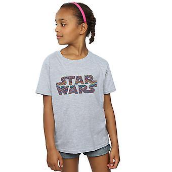 Star Wars Girls Colour Aztec Logo T-Shirt