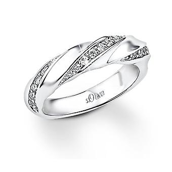 s.Oliver Jewel ladies ring silver Zirkonia SO826