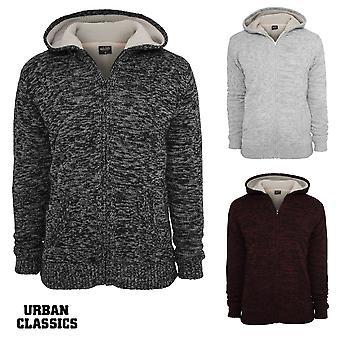 Urban classics winter knit Zip Hoodie