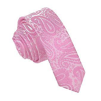 Baby roze Paisley mager gelijkspel