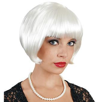 Partido peluca blanca peluca Bob