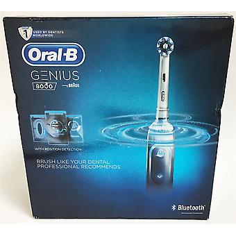 Oral-B Genius 8000 CrossAction Electric Toothbrush Rechargeable Powered by Braun