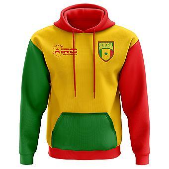 2018-2019 Senegal trzecia koncepcja piłki nożnej z kapturem