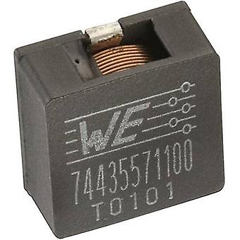 Würth Elektronik WE-HCI 74435561100 Inductor SMD 1890 10 µH 15 A 1 pc(s)