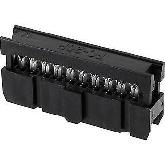 Econ ansluta Pin connector kontakt avstånd: 2.54 mm totalt antal stift: 26 nr rader: 2 1 dator fack