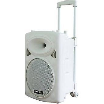 Transportabel PA højttaler 30.48 cm (12) Ibiza Sound PORT12VHF-BT-WH 1 computer(e)