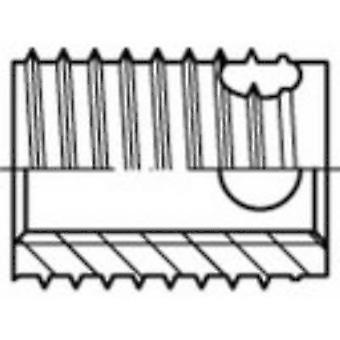 159848 Threaded inserts M6 8 mm 100 pc(s)