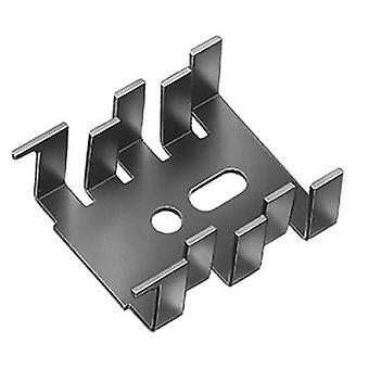 Heat sink 15 C/W (L x W x H) 34 x 25.4 x 12.7 mm SOT 32, TO 220 Fischer Elektronik FK 216 SA-CB