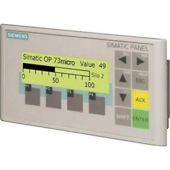 PLC exibir pix de 160 x 48 extensão Siemens SIMATIC OP 73micro 6AV6640-0BA11-0AX0