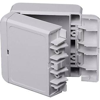 Bopla Bocube B 080805 ABS-7035 Wall-mount enclosure, Build-in casing 80 x 89 x 47 Acrylonitrile butadiene styrene Light grey (RAL 7035) 1 pc(s)