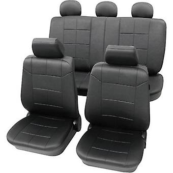 Petex 22574901 Dakar SAB 1 Vario Plus Seat covers 17-piece Polyester Anthracite