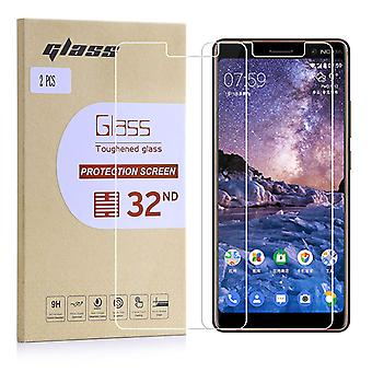 Extra Armoured Tempered Glass for Nokia 7 Plus (2018) - 2 Pack