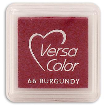 VersaColor Pigment Mini Ink Pad-Burgundy