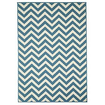 Outdoor carpet for Terrace / balcony light blue coastal living waves light blue 133 / 190 cm carpet indoor / outdoor - for indoors and outdoors