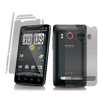 Gadget Guard Screen Protector voor HTC EVO 4G - Full Body